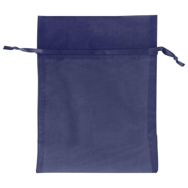 Navy Blue Organza Bags