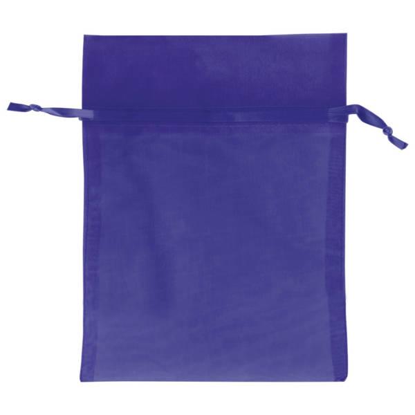 Royal Blue Organza Bags
