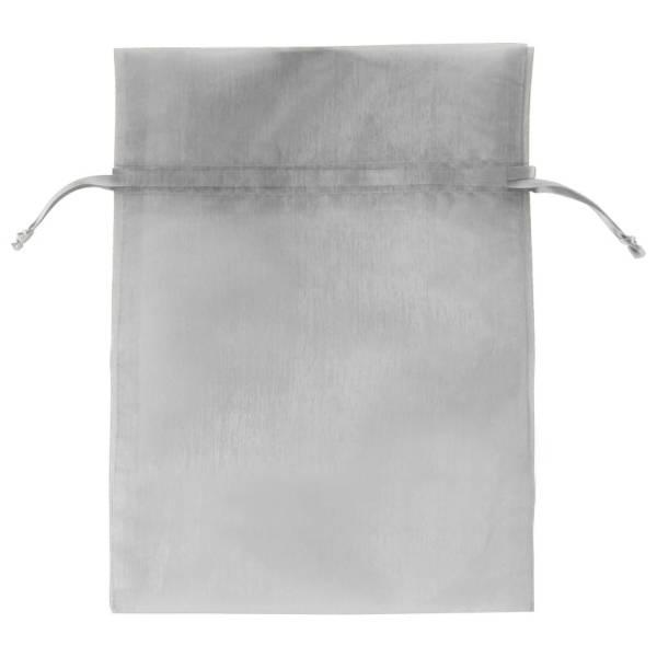 Silver Organza Bag- SIL