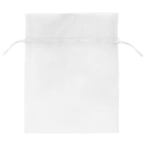 White Organza Bag